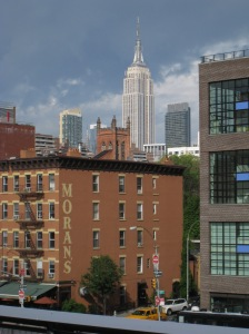 Empire Estate Building from High Line