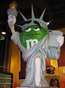 M&M Lady Liberty