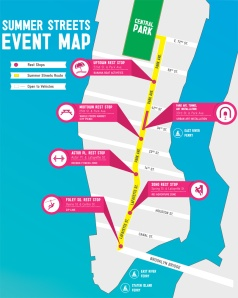 Summer Streets Map