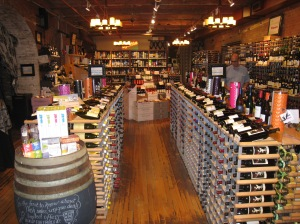 Wines at Chelsea Market