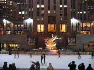 Pista de gel del Rockefeller Plaza