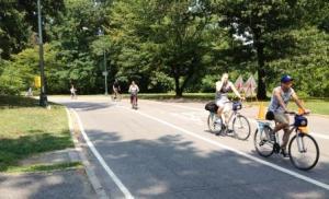 Central Park bike