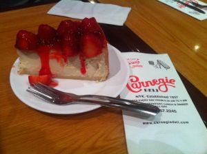 Cheesecake Carnegie Deli