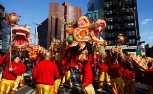 Any nou xinès Chinatown