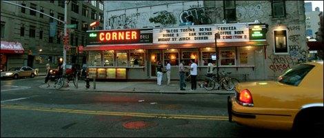 Nova York menjar La Esquina Corner