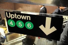Uptown subway NY