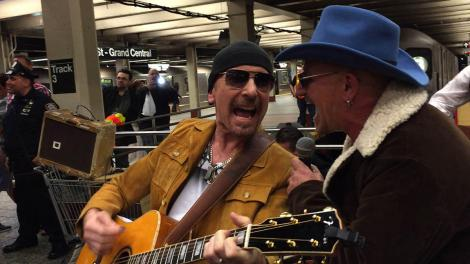 U2 New York Subway