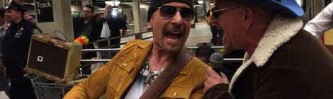 U2 New York Subway