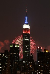 Empire State Building 4th July