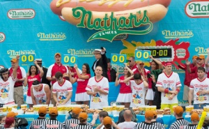 Nathan's Hotdog Eating Contest